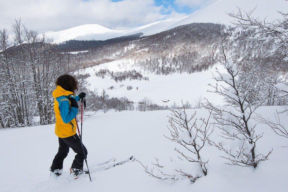 Lo splendido contesto naturalistico da cui è avvolto il Rifugio Terraegna in Inverno